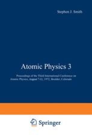 Atomic Physics 3