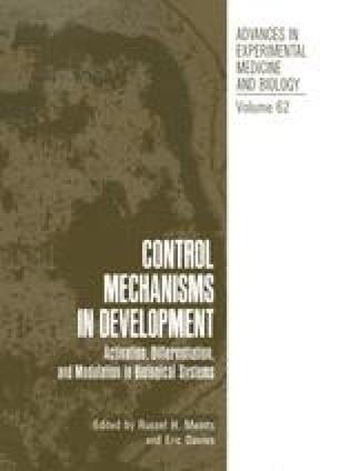 Control Mechanisms in Development