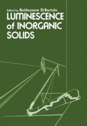 Luminescence of Inorganic Solids