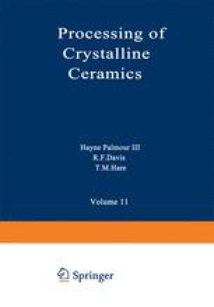 Processing of Crystalline Ceramics