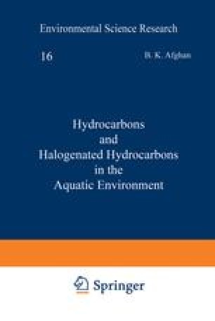 Hydrocarbons and Halogenated Hydrocarbons in the Aquatic Environment
