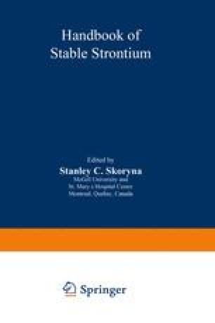Handbook of Stable Strontium