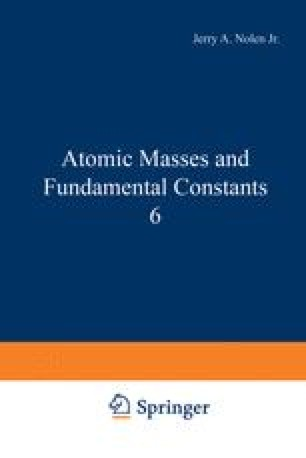 Atomic Masses and Fundamental Constants 6