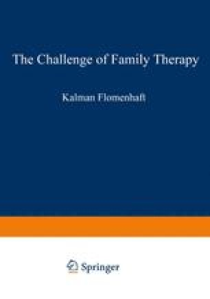 The Challenge of Family Therapy