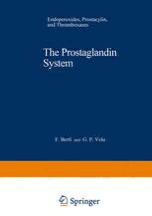 The Prostaglandin System