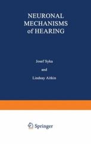 Neuronal Mechanisms of Hearing