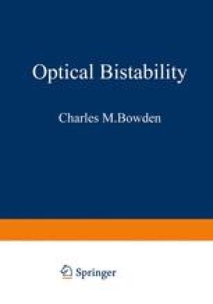 Optical Bistability