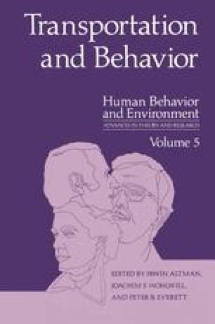 Transportation and Behavior