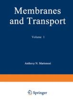 Membranes and Transport