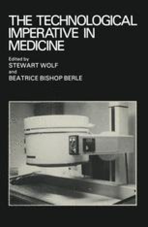 The Technological Imperative in Medicine