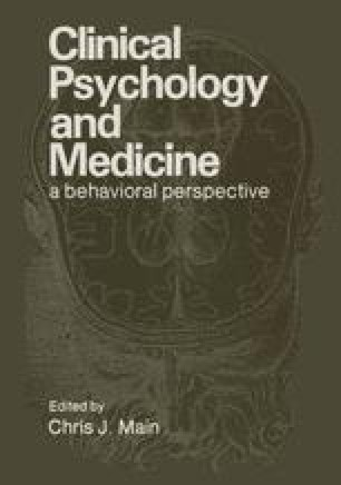Clinical Psychology and Medicine