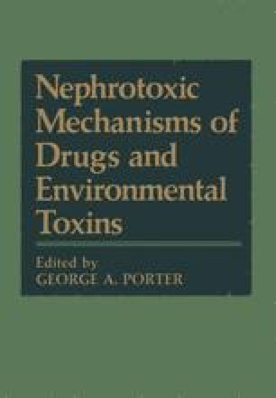 Nephrotoxic Mechanisms of Drugs and Environmental Toxins
