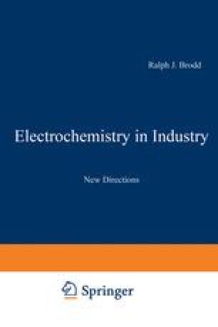 Electrochemistry in Industry