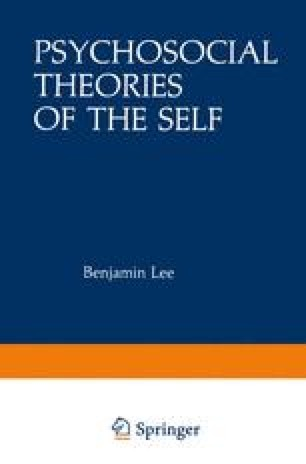 Psychosocial Theories of the Self