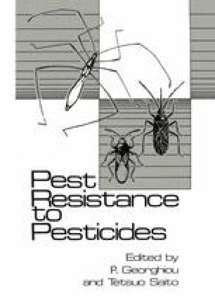 Pest Resistance to Pesticides