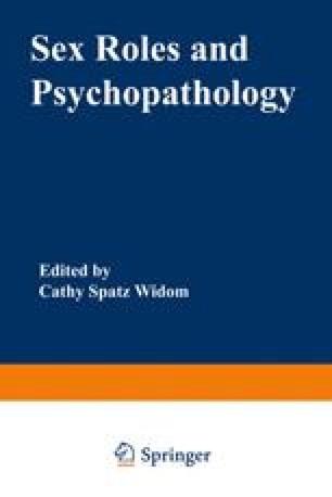 Sex Roles and Psychopathology