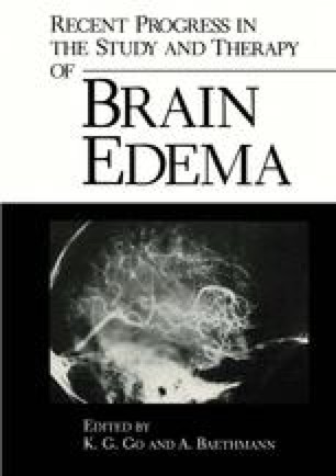 Recent Progress in the Study and Therapy of Brain Edema