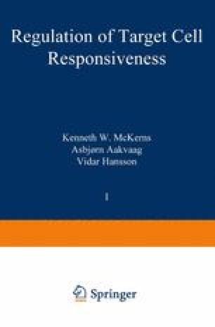 Regulation of Target Cell Responsiveness
