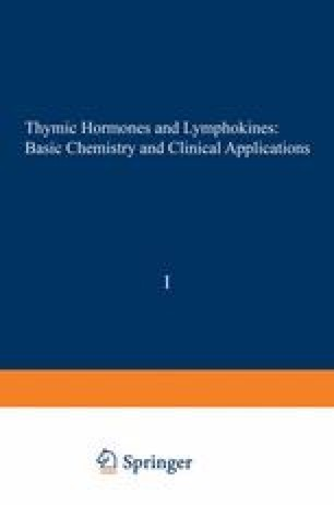 Thymic Hormones and Lymphokines