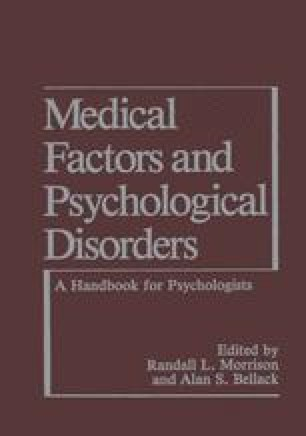 Medical Factors and Psychological Disorders