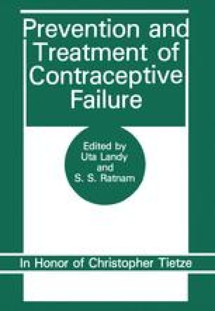 Prevention and Treatment of Contraceptive Failure