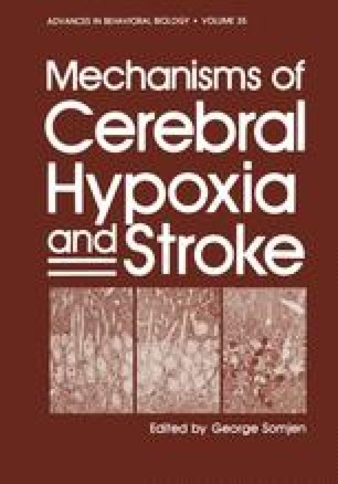 Mechanisms of Cerebral Hypoxia and Stroke