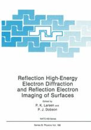 Reflection High-Energy Electron Diffraction and Reflection Electron Imaging of Surfaces
