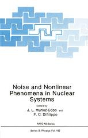 Noise and Nonlinear Phenomena in Nuclear Systems