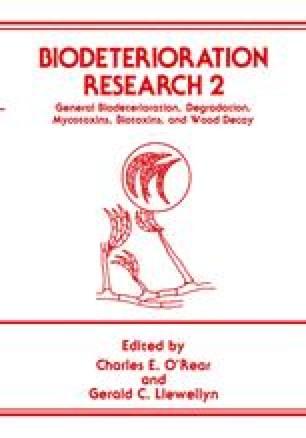 Biodeterioration Research 2