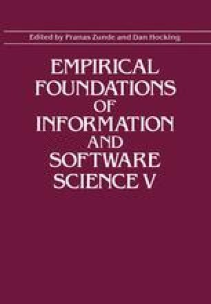 Empirical Foundations of Information and Software Science V