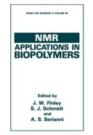 NMR Applications in Biopolymers