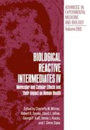 Biological Reactive Intermediates IV