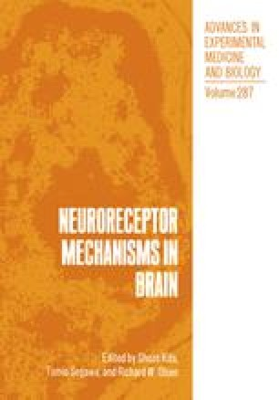 Neuroreceptor Mechanisms in Brain