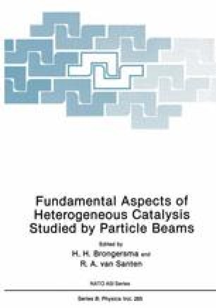 Fundamental Aspects of Heterogeneous Catalysis Studied by Particle Beams