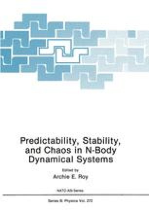 Predictability, Stability, and Chaos in N-Body Dynamical Systems