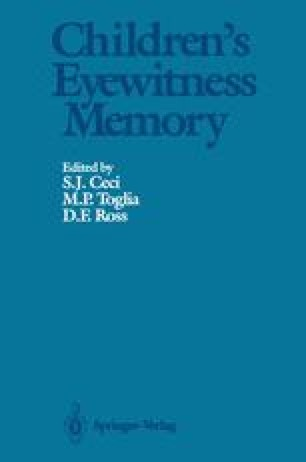 Children's Eyewitness Memory