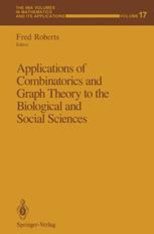 Applications of Combinatorics and Graph Theory to the Biological and Social Sciences