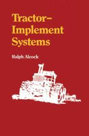 Tractor-Implement Systems
