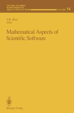 Mathematical Aspects of Scientific Software