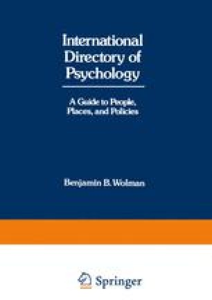 International Directory of Psychology