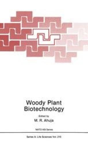 Woody Plant Biotechnology