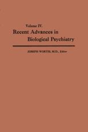 Recent Advances in Biological Psychiatry