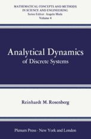 Analytical Dynamics of Discrete Systems