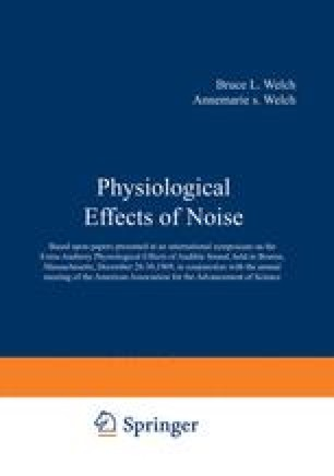 Physiological Effects of Noise