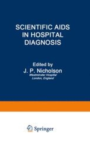 Scientific Aids in Hospital Diagnosis