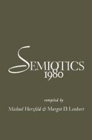 Semiotics 1980