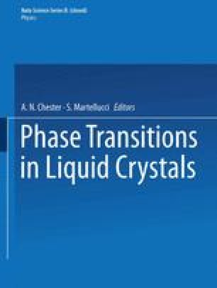 Phase Transitions in Liquid Crystals