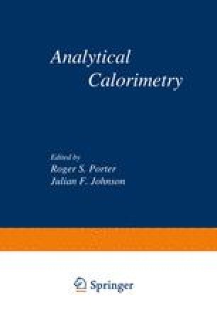 Analytical Calorimetry