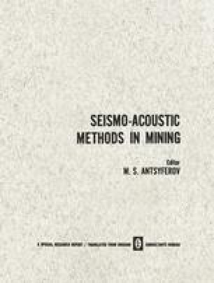 Seismo-Acoustic Methods in Mining / Primenenie Seismoakusticheskikh Metodov v Gornom Dele / Применение Сеисмоакустических Методов в Горном Деле