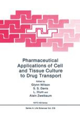 Pharmaceutical Applications of Cell and Tissue Culture to Drug Transport